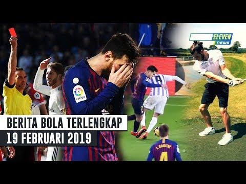 Messi Gagal Penalti😱Bale Tak Betah di Madrid🔥RAMOS Kartu Merah Terbanyak di Eropa(Berita Bola)
