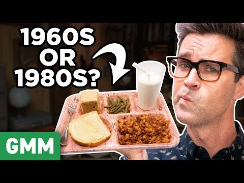 100 Years Of School Lunches Taste Test