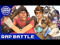 Download Overwatch vs. Team Fortress 2 -  Game Rap Battle MP3 song and Music Video