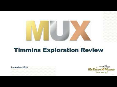 McEwen Mining Black Fox Complex Webinar