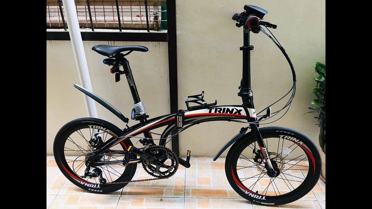 Trinx Dolphin 3 0 Folding Bike Review Youtube
