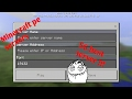 How to join a Minecraft pe online server