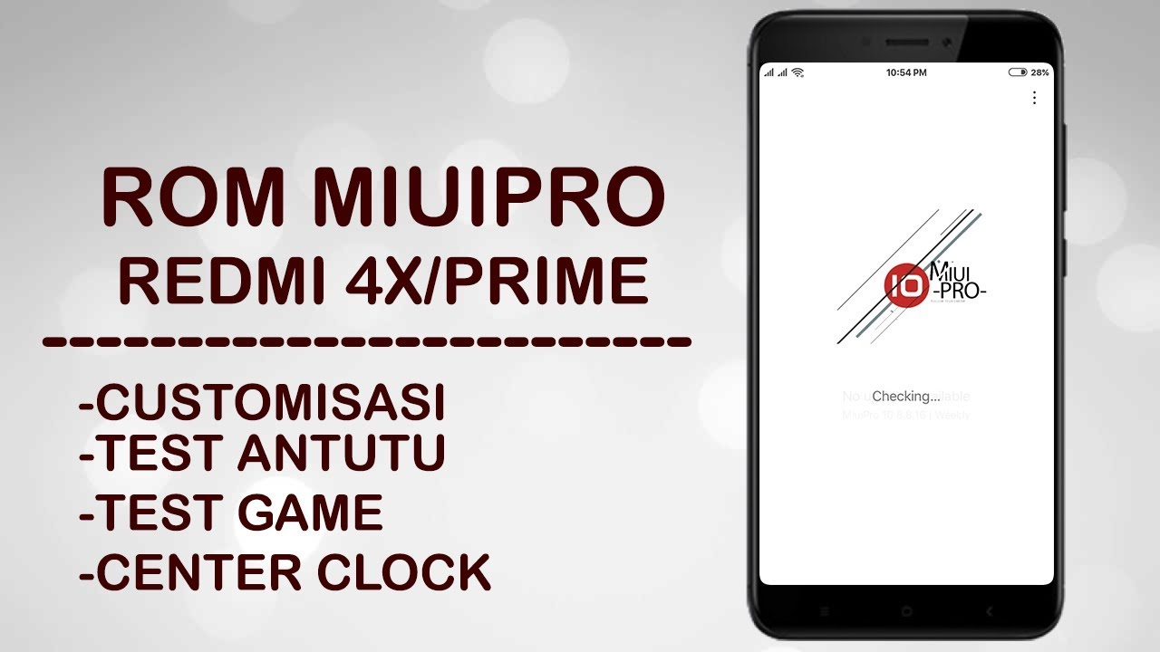 REVIEW ROM MIUIPRO PAKE KERNEL CLARITY PADA REDMI 4X | BASE MIUI 10 CHINA