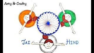 Happy Indepenence /Republic Day 3D Drawing/How to make Perfect Ashok Chakra/Art & Craft for 15th Aug