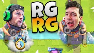 NICKATNYTE and MOLT - Royale Giant MADNESS - Clash Royale!