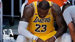 LeBron James and Anthony Davis on the Lakers exit from the NBA playoffs