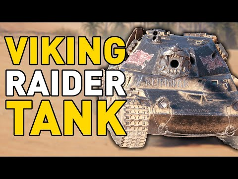 VIKING RAIDER LANSEN! - World of Tanks