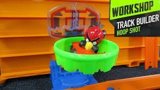 Hot Wheels Track Builder Hoop Shot Workshop with Angry Birds Red Bird and Minion Pig (2013)