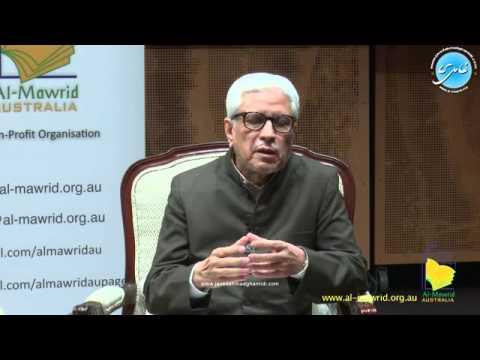 Javed Ahmad Ghamidi (Adelaide Australia) 4-Oct-2015