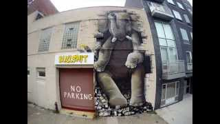 Brooklyn Bullshit Elephant (Dian & Life is Porno street art animation)
