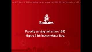 Happy Independence day India | India | Emirates Airline