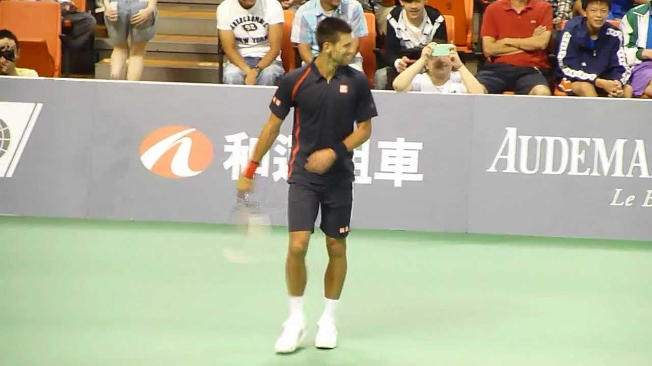 Djokovic also competed in doubles with