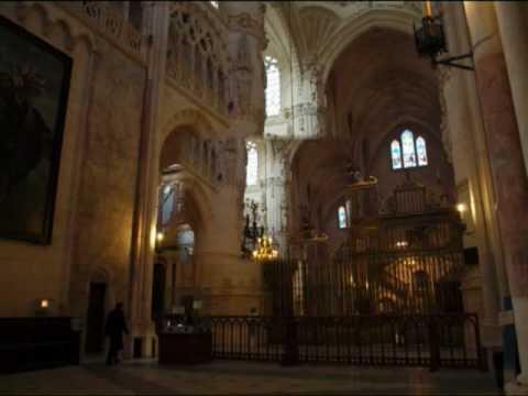 Catedral de burgos castilla y le n interior youtube for Catedral de durham interior