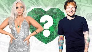 WHO'S RICHER? - Lady Gaga or Ed Sheeran? - Net Worth Revealed!