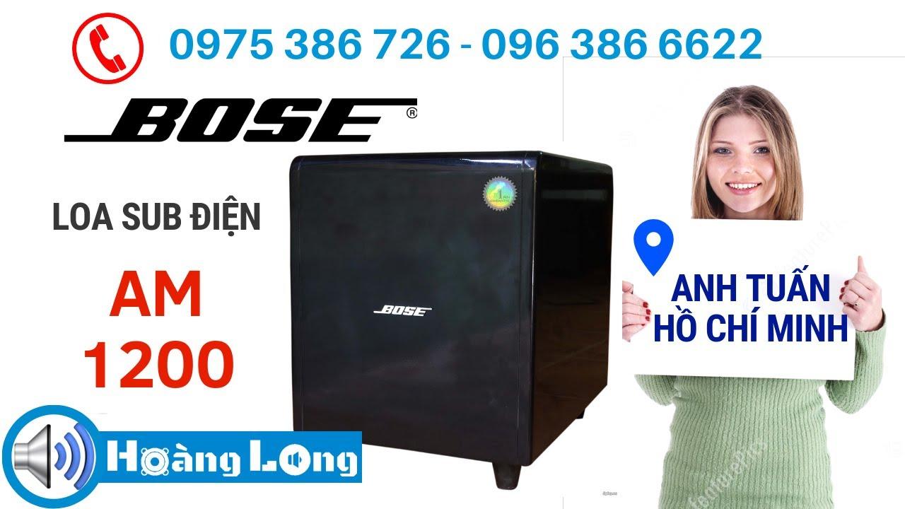 Loa sub điện Bose gửi a Tuấn-Q9. LH 0963866622 - 0975386726