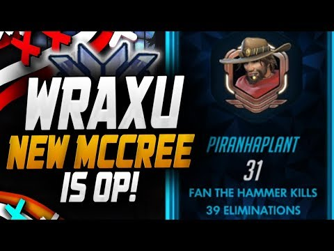 Wraxu - New MCCREE IS OP! [ OVERWATCH SEASON 14 TOP 500 ] thumbnail