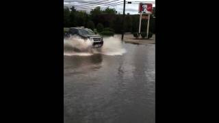 Hurricane Irene flood in hackettstown nj aug 28 2011 part 2