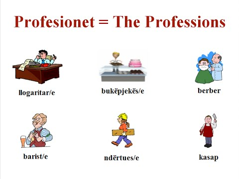 #13: Learn Albanian Online (Beginner Class; Professions and Jobs)