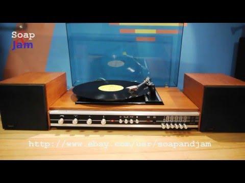 Vintage Radio Luxor DIRIGENT 2X7G & Luxor Turntable Record Player. 70's