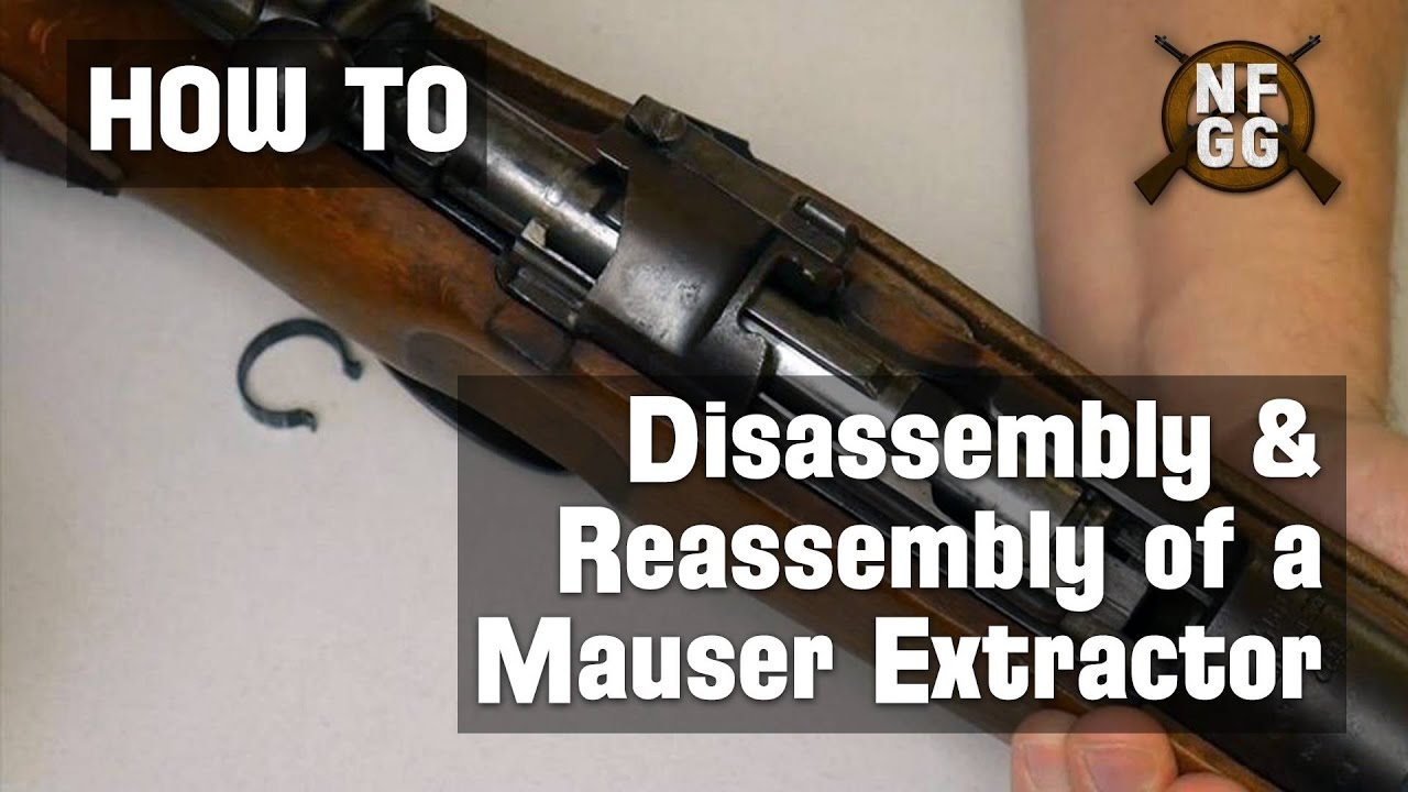 How to Remove a Mauser Extractor and Replace the Extractor Collar
