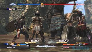 The Last Remnant gameplay 03 (Boss fight Castanea and Roeas)