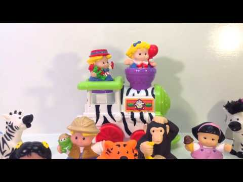Little People Musical Zoo Circus Train ~ TheMadBirdHouse