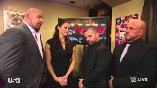 WWE RAW: The Authority Backstage