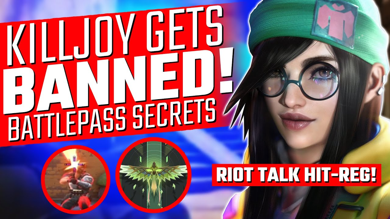Valorant: Killjoy Gets BANNED! - Riot Talk Broken Headshots