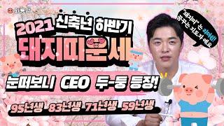 """2021년 하반기 돼지띠 운세 """"눈떠보니 CEO 두-둥 등장!"""" (용한점집)(서울점집)(인…"""