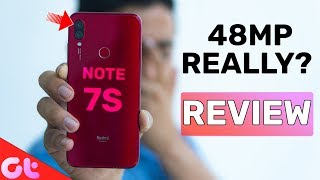 Redmi Note 7S Full Review With Pros and Cons   48 MP Beast Really?   GT Hindi