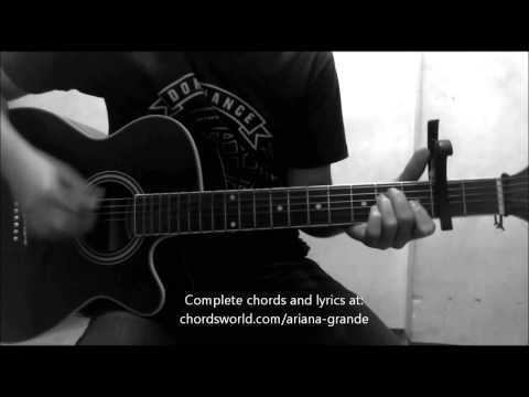 Honeymoon Avenue Chords by Ariana Grande - How To Play - chordsworld.com