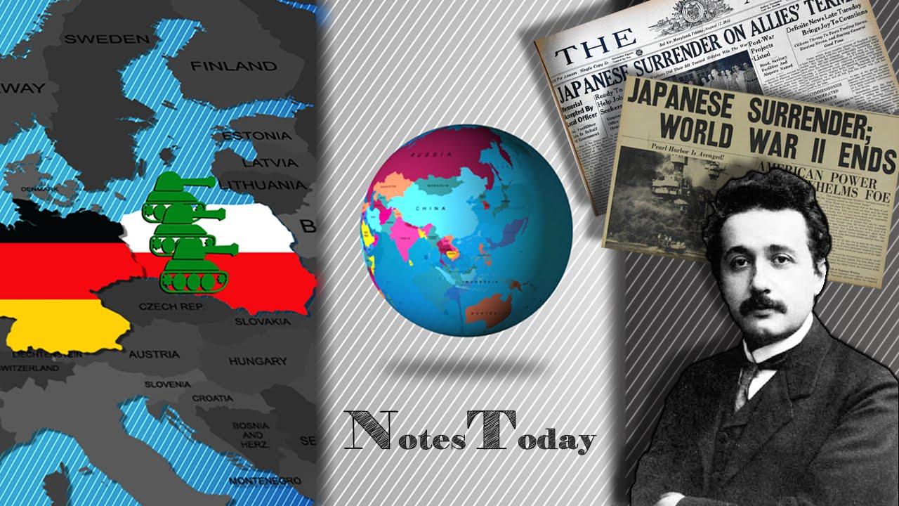 World War 2 Starts | Historical events on 1 September