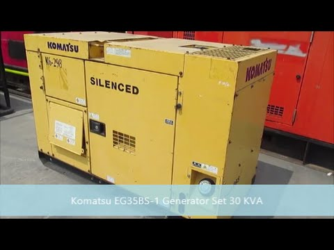Jakarta Auctions - Komatsu EG35BS-1 Generator Set 30 KVA