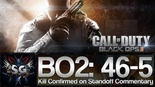 Call of Duty Black Ops 2: 46-5 Kill Confirmed on Standoff (Gameplay/Commentary)
