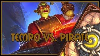 Hearthstone: Tempo vs. Pirate (tempo/taunt warrior)