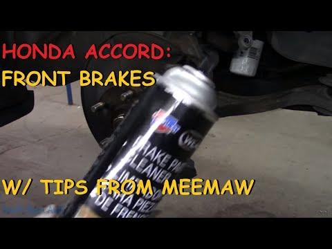 Honda Accord: Front Brake Pads & Rotors