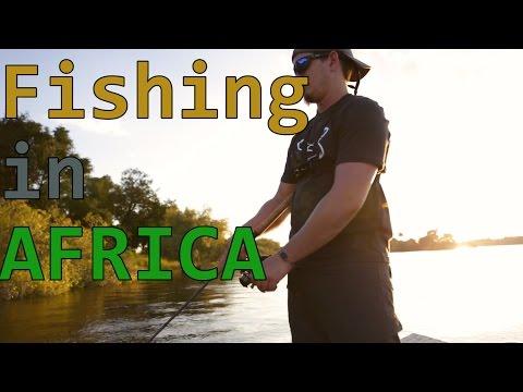 Fishing above Victoria Falls: Zambia, Zimbabwe, Botswana - Africa 2017