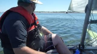 Catamaran - Windrush 14 Sailing Stansbury, Australia