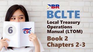 BCLTE - місцевих казначейських операцій керівництво (книга#6 2 Глава 2-3)