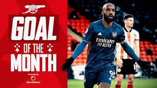 Who scored Arsenal's best goal in April? | Lacazette, Miedema, Pepe, Saka, van de Donk