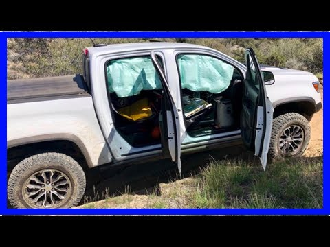 Chevrolet Colorado Side Curtain Airbags Keep Deploying On Easy Off-Road Trails | k production chann