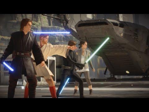 ANAKIN SKYWALKER IS GAME BREAKING! - Battlefront 2 (HvV Gameplay) thumbnail