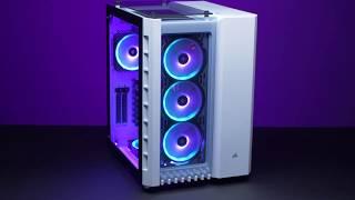 CORSAIR Crystal Series 680X RGB Case - High Airflow. Stunning Light Show.