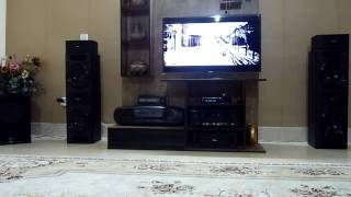 bass and terrible pioneer s rs88tb by av receivers vsx 824 k