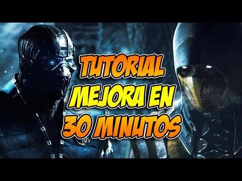 Mortal Kombat X: Tutorial Principiante, Medio y semi-avanzado.