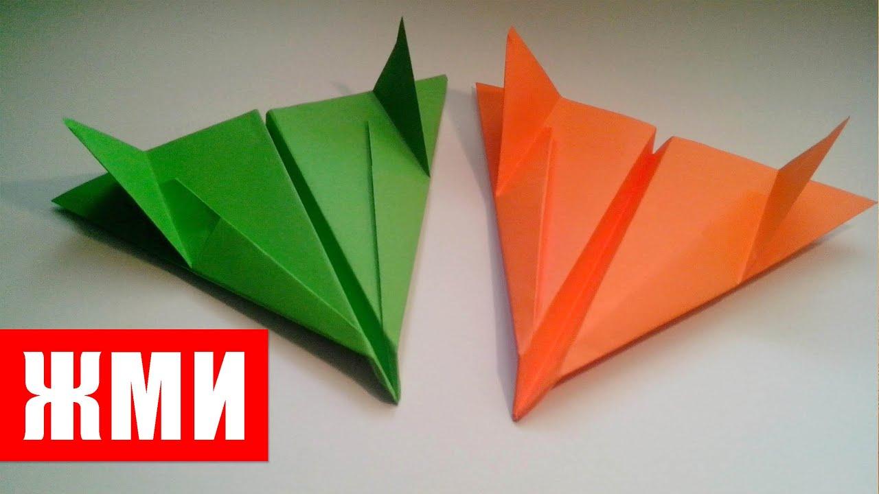 Поделки из бумаги своими руками летающий