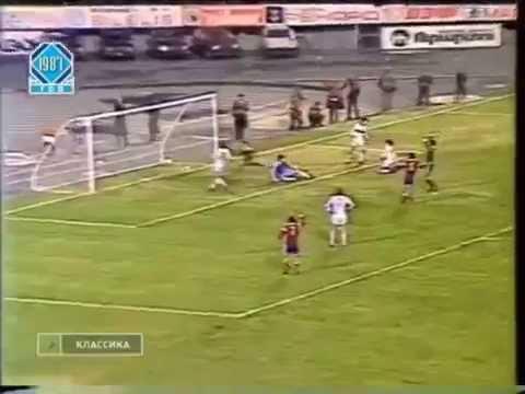28 Тур Чемпионат СССР 1987 Арарат Ереван-Спартак Москва 3-2
