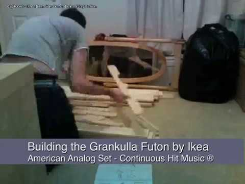 Ikea Futon Construction In 2 Minutes