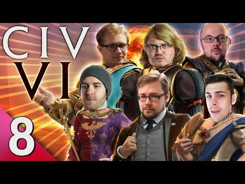 Civ 6 - Prongs of Power #8 - He Had It Coming