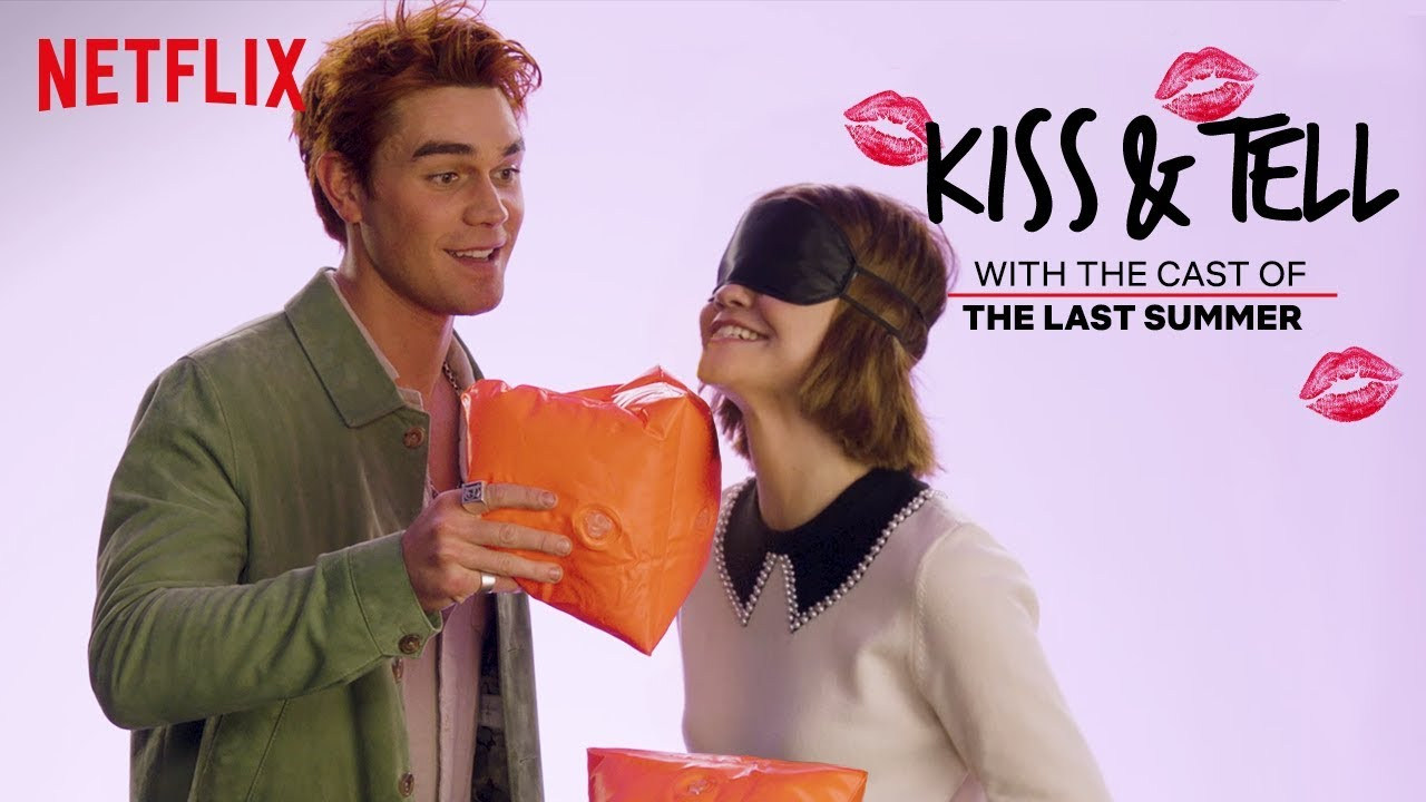 Download KJ Apa and Maia Mitchell Play Kiss & Tell | The Last Summer | Netflix
